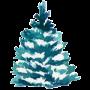watercolor spruce tree